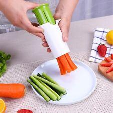 Kitchen Cucumber Slicer Divider Carrot Strawberry Splitter Gadget Cutting Tool