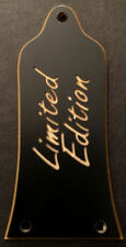 Engraved Etched GUITAR TRUSS ROD COVER - EPIPHONE - LIMITED EDITION Black Gold
