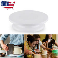 "11""  Rotating Revolving Cake Turntable Sugarcraft Decorating Stand Platefor"