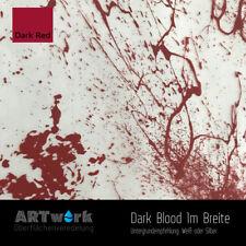 Wassertransferdruck Folie WTD Starterset 1m Dark Blood + Aktivator