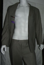 Vintage Gilles Masson Gray Jacket Pants Suit Italy