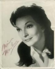 MARION MARLOWE SIGNER ON THE ED SULLIVAN SHOW / JACK PAAR SIGNED PHOTO AUTOGRAPH