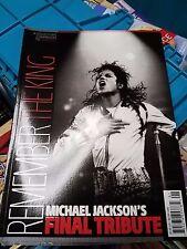 REMEMBER THE KING MICHAEL JACKSON'S FINAL TRIBUTE MAGAZINE - NEW