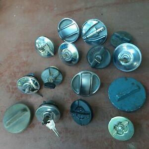 Bulk lot of automotive fuel caps for Holden? Ford?Valiant? Toyota? Hot rod.