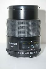 TAMRON SP 90mm F/2.5 ADAPTALL 2 MANUAL FOCUS MACRO LENS Only with front lens cap