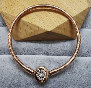 Pandora Rose 589046C01 Moments Crown O Chain Bracelet SIZE 21 cm ALE MET