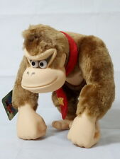 Donkey Kong Figure with Tag TAKARA Action Pose Donkey Nintendo Plush Doll