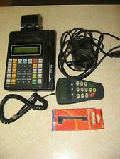 Hypercom Credit Card Machine T7P and T7P-T 512K w/ Extras