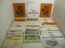 20 Woods Loaders Tractor Backhoe Mower Farm Mechanics Manual Parts Dealer Oil