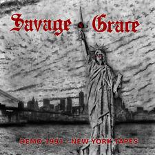 SAVAGE GRACE – New York Tapes - Demo 1991 (LIM.500 CD*US HEAVY/SPEED METAL)