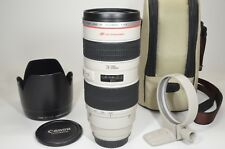 Canon EF 70-200mm f/2.8 L USM ULTRASONIC Lens with Lenc Case #a1047 Near MINT