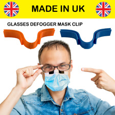 Face Mask Glasses Grip, Anti Fog Steaming-Free Nose Clip Defogger (1pc)