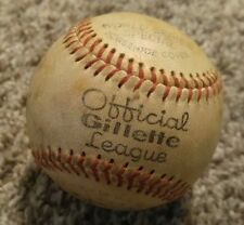 Official Gillette League World Series Autographed Special Premium Baseball