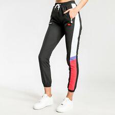 Ellesse Womens Eulalia Track Pant Black Color Block Active Wear SGC07366-BLK