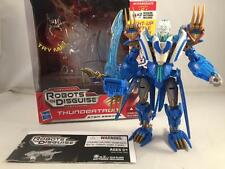 TRANSFORMERS PRIME RID THUNDERTRON COMPLETE! ROBOTS IN DISGUISE!