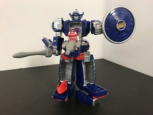 """1990's 100% COMPLETE Power Rangers In Space Astro Megazord Micro Playset"""""""