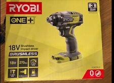 Ryobi one+ brushless impact driver new