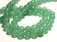 10pc - Perles de Pierre - Jade Boules 8mm Vert