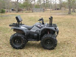 TriangleATV RISER SNORKEL KIT 2002-2008 Yamaha Grizzly 660 ATV