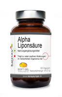 Alpha Liponsäure 60 Kapseln - Nahrungsergänzungsmittel