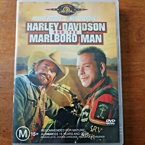 Harley Davidson and the Marlboro Man DVD R4 VERY GOOD – FREE POST