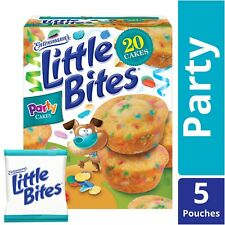 NEW ENTENMANNS LITTLE BITES PARTY CAKE MINI MUFFINS FUNFETTI 8.25 OZ (234g) BOX