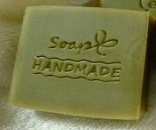 "8023 ""Soap Handmade"" Resin Soap Stamp Seal Soap Mold Mould 1.97""x1.57"""