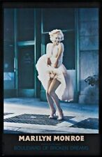 ACTRESS POSTER Marilyn Monroe Boulevard of Broken Dreams
