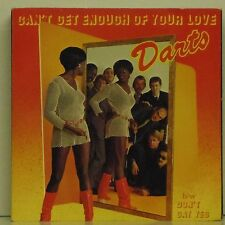 """DARTS 'CAN'T GET ENOUGH OF YOUR LOVE' UK PICTURE SLEEVE 7"""" SINGLE"""