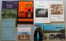 Lazio e Roma: guide, cartine, depliant... 8 pezzi