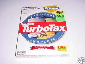 Turbotax 1999 Turbo tax 99.  New retail box. Genuine.