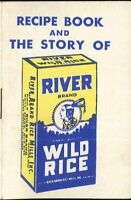 River Wild Rice Mini Recipe & Memo Book History Game Stuffing Sweetbreads Pilaf