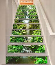 3D Stein Pflanze 71 Stair Risers Dekoration Fototapete Vinyl Aufkleber Tapete DE