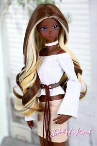 SMART Doll Wig| MOCHA CREAM  |Fit Dollfie, Paola Reina, Doll of a Kind