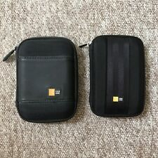 Case Logic Portable Hard Drive 2x Cases, Bundle, Used, Good Conditions