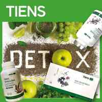 Tiens detox set spirulina lipid metabolic management tea and chitosan