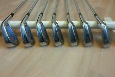 Mizuno TCD golf irons, 3 - 9, dynaflex steel shafts, right handed