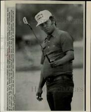 1974 Press Photo Homero Blancas during the Greater Jacksonville Golf Open in FL