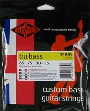 ROTOSOUND RS88S TRU BASS BLACK NYLON BASS STRINGS, SHORT SCALE  4's - 65-115