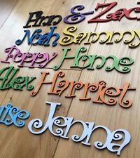 Wooden letters, Name Plaques Words/Letters Wall/Door Art/craft/Sign alphabet 99p