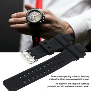 PU Watch Strap Watchband Strap Belt Replacement Fit High Quality