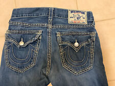 Authentic True Religion Billy Big T Super T Mens Boot Cut Jeans 30 X 34 Nice!