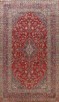 Vintage Floral RED Traditional Hand-knotted Area Rug Wool Oriental Carpet 8x12