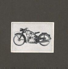 15/702 sammelbild vieille technique moto NSU 125 zdb année modèle 1949