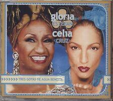 GLORIA ESTEFAN CELIA CRUZ - Trs gotas de agua bendita - CDS SINGLE 2000 SEALED