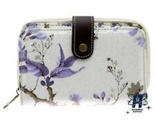 Bifold Floral Zip-Around Women's Purses & Wallets