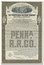 Pennsylvania Railroad Company Bond Certificate