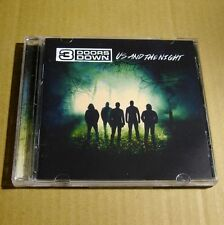 3 Doors Down - Us and The Night 2016 USA CD MINT Alternative Rock #D02