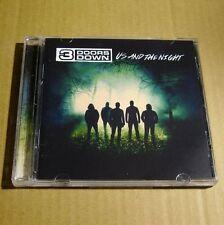 3 Doors Down - Us and The Night 2016 USA CD MINT Alternative Rock #C02