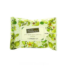 [The Face Shop] Herb Day Cleansing Tissue - 1Pack (20pcs) / Free Gift